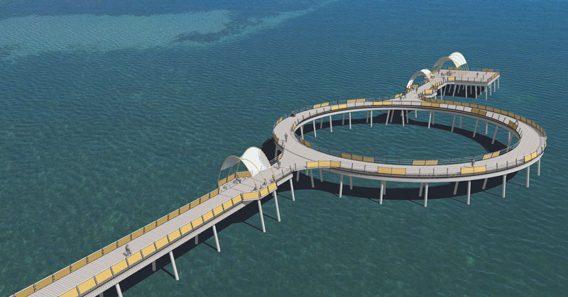 Proposed Coast engineering project Whyalla Jetty
